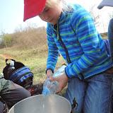 Připravit vodu do kotlíku...
