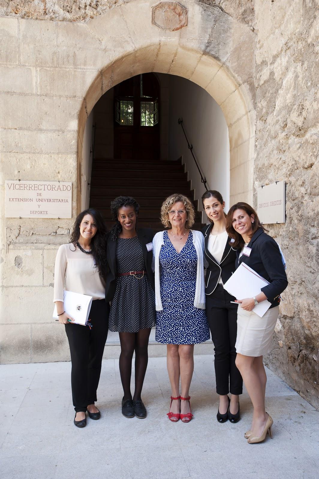 """Alumnos en prácticas en la Investidura de Doctores """"Honoris causa"""" en la UGR"""