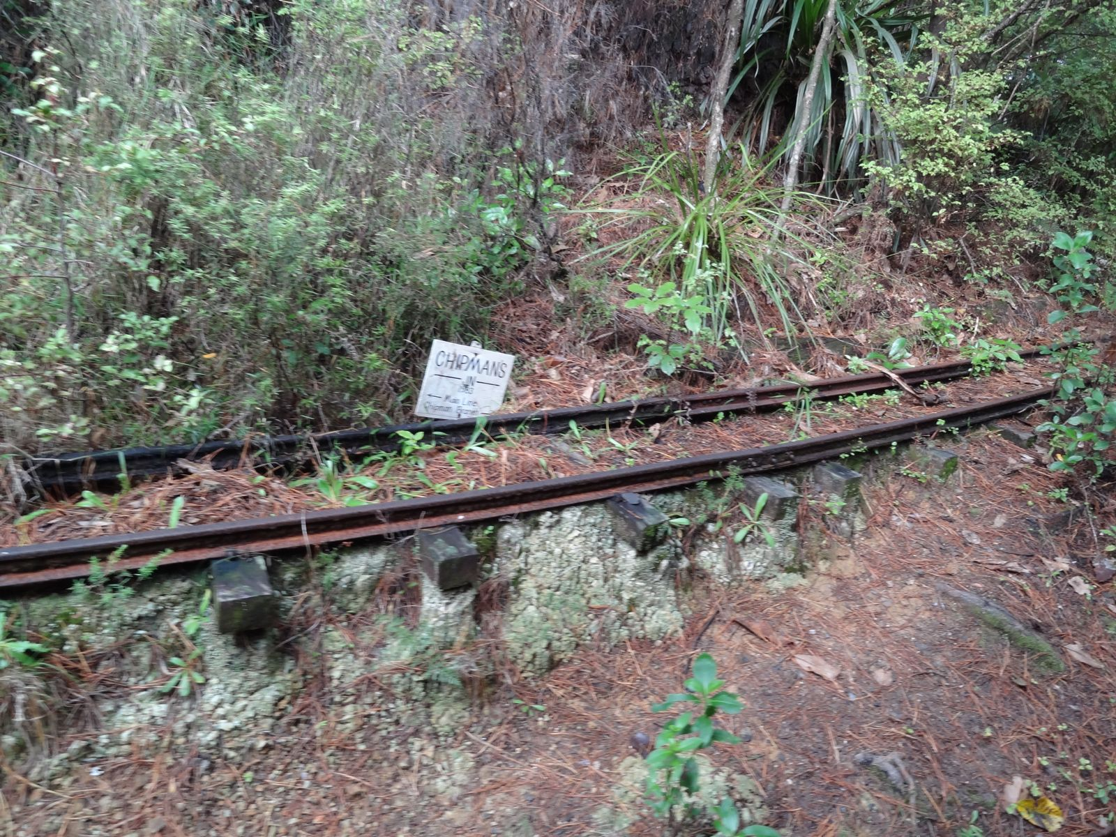A disused branch line