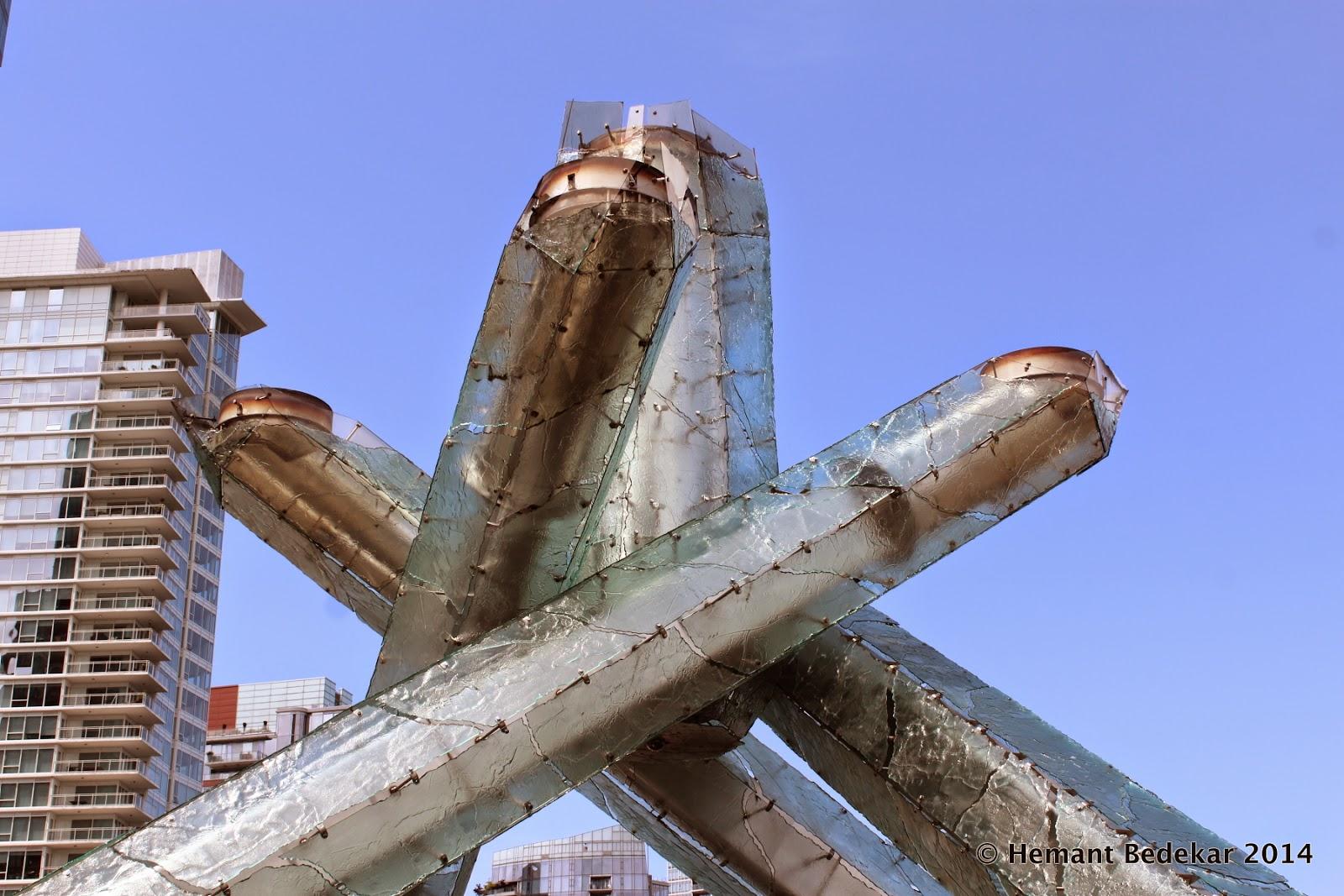 Vancouver Winter Olympics 2010 Cauldron