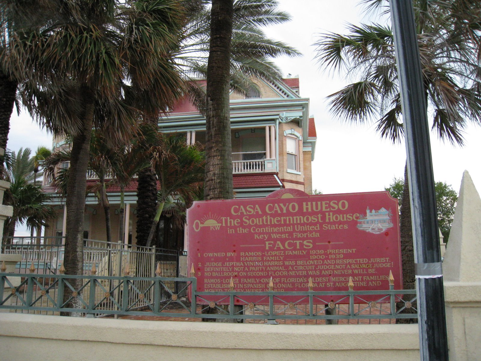 """More Marketing Crap - """"Oldest Southernmost house in the Continental USA"""". There are other houses that are even more """"southerner"""" than this one .. hence the word """"oldest"""" to describe this one."""