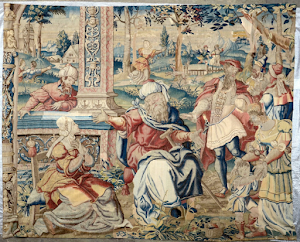 Гобелен XVI век. 285/327 см.