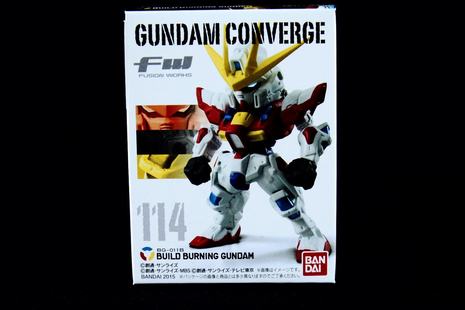 No.114 BG-01B Build Burning Gundam