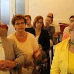 A hallgatóság soraiban Pogány Erzsébet, a SZAKC igazgatója