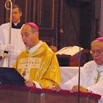 A szentmisét dr. Udvardi György pécsi megyéspüspök celebrálta