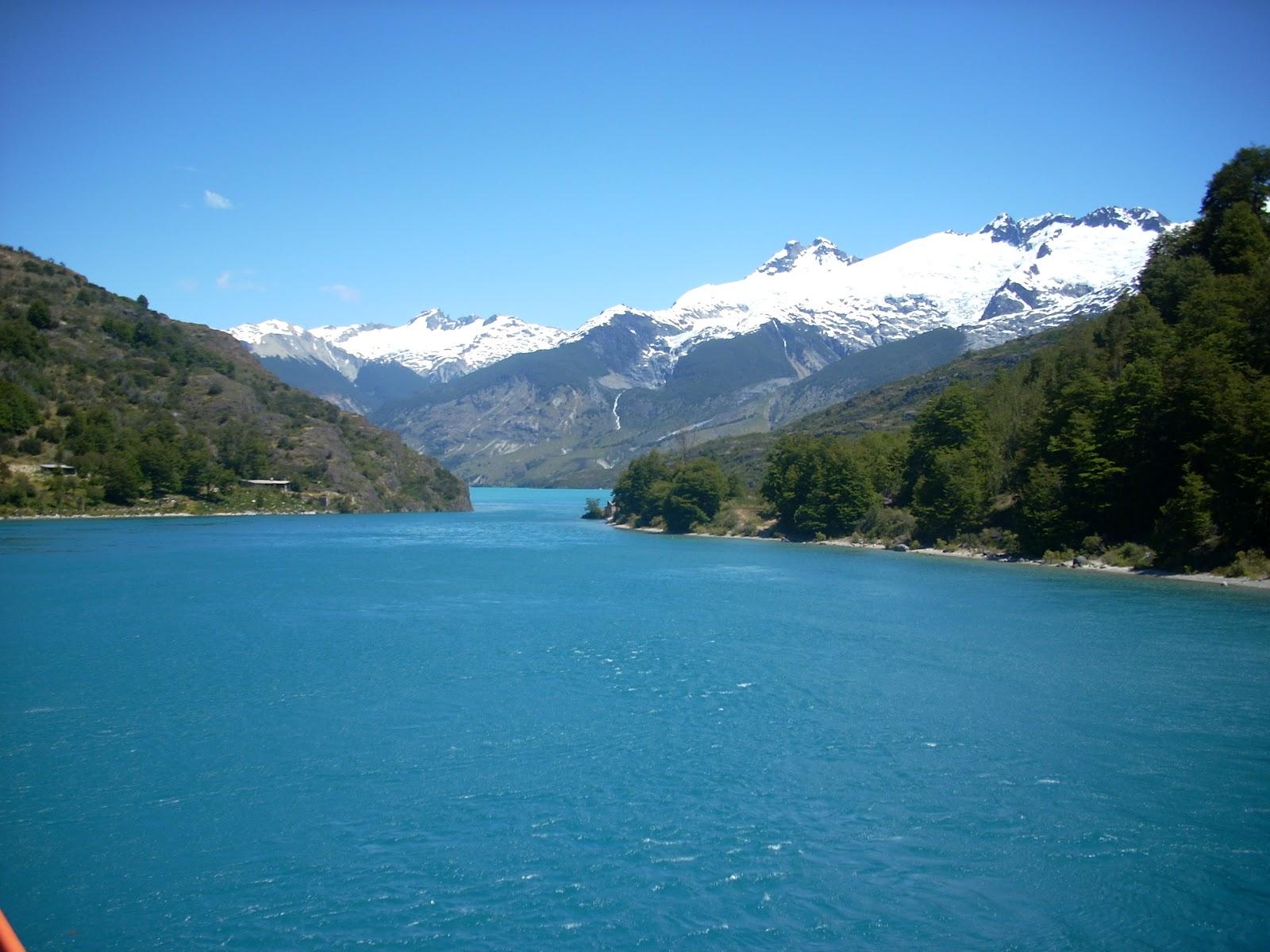 Looking through to Lago Bertrand