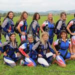 Les filles des équipes de France de PAV & VC, Banjaluka 2014