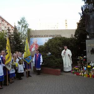 2014 rok - Msza dziękczynna - kanonizacja Jana Pawła II
