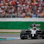 Kevin Magnusssen racing the McLaren MP4-29