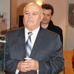 Balogh Gábor, a Csemadok Nagykürtösi Területi Választmányának elnöke újévi köszöntőt mond