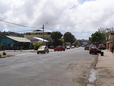 Main road in Luganville