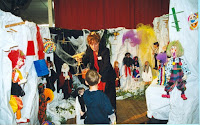 Fête du Livre 09 Animation Catherine Loislard et ses marionnettes 1999 Cossé