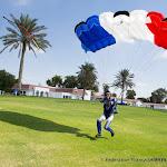 Benoit Baeckeroot au posé, Équipe de France de Voile Contact Séquence à 4 @ Dubaï, 5th DIPC