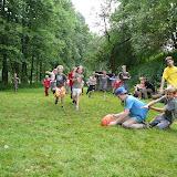 Momentka ze zjednodušeného turnaje klubů v rugby