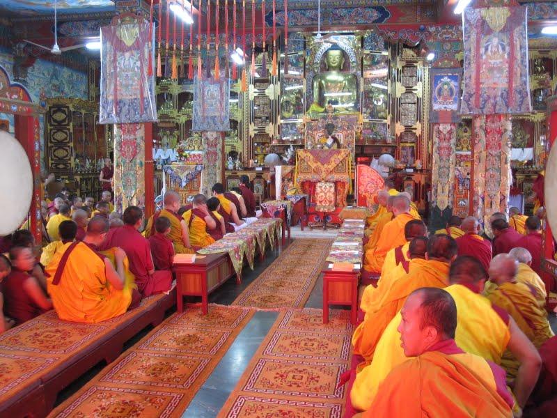 During Wangya Norbu Tangwa initations, Dheradun, 2008