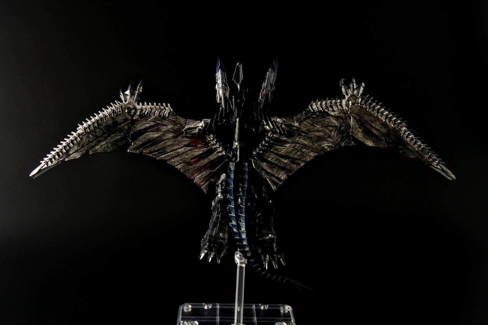 這乾刷塗裝的翅膀其實很好看