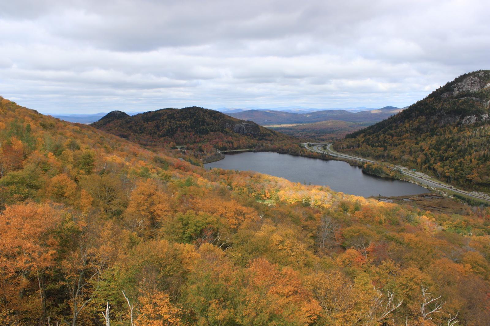 Echo Lake - White Mountains, New Hampshire