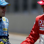 Schumacher handshake 2006 Brazil F1 GP