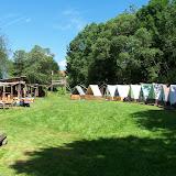 Tábor v plné parádě, připravený na příjezd dětí