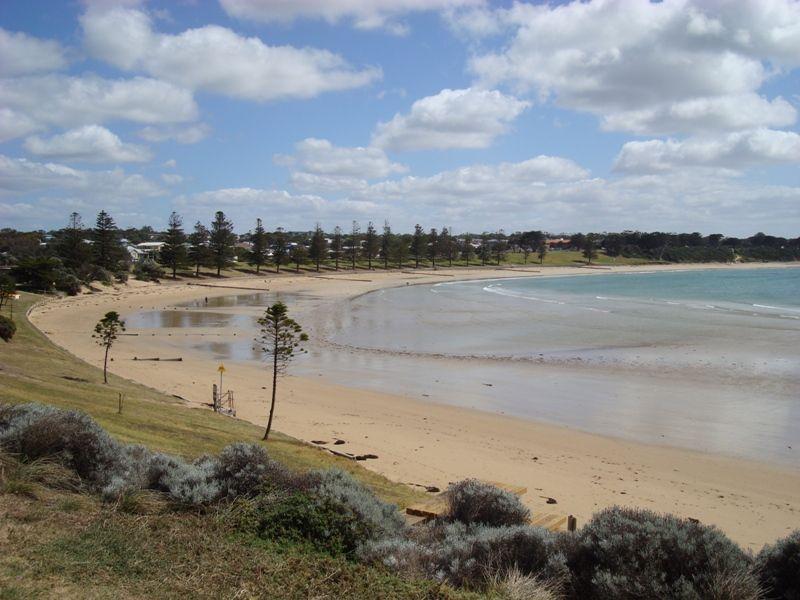 The beach at Torquay