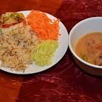 Salades et goulash à la gypsy