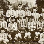 Crescent College Junior Cup Team 1909