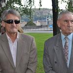 Kű Lajos és Várhidi Pál, az Aranycsapat Alapítvány vezetői