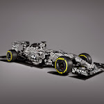 Infiniti Red Bull Racing RB11 front right view gray