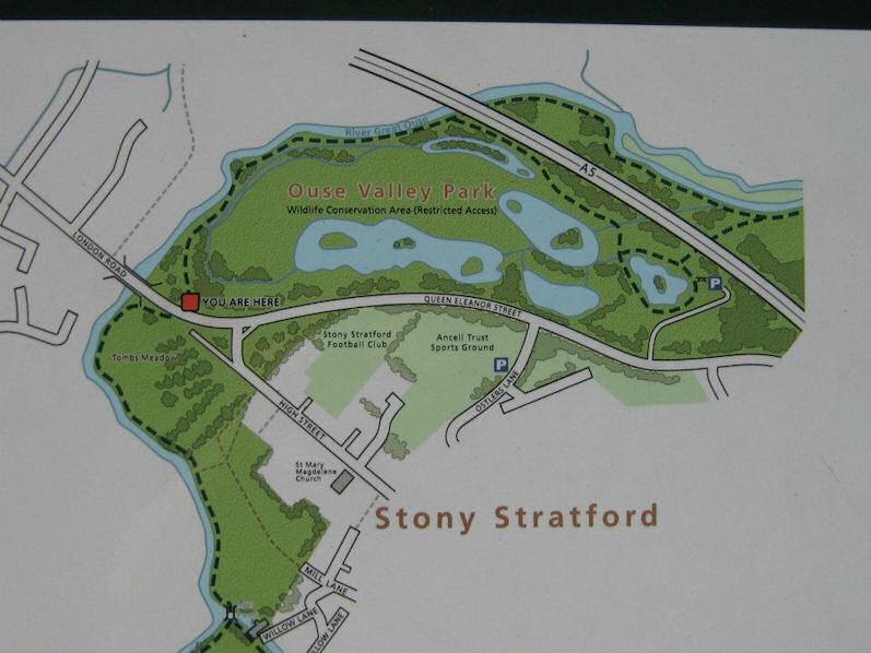 Stony Stratford Map