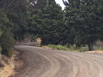 Lots of gravel roads