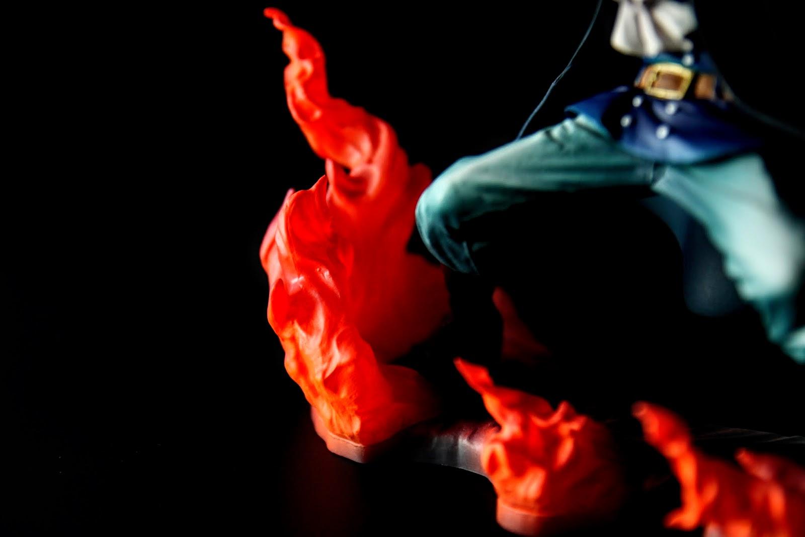 吃了艾斯的燒燒果實, 繼承艾斯的意志及能力