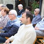 A közönség soraiban Pálinkás Tibor, a Honti Múzeum és Simonyi Lajos Galéria vezetője, valamint az Ipolyság küldöttsége