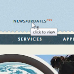 News and Updates RSS feed integration - homepage placement