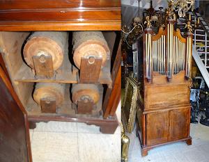 Редкий, коллекционный орган  17-й век. 100 000 евро.