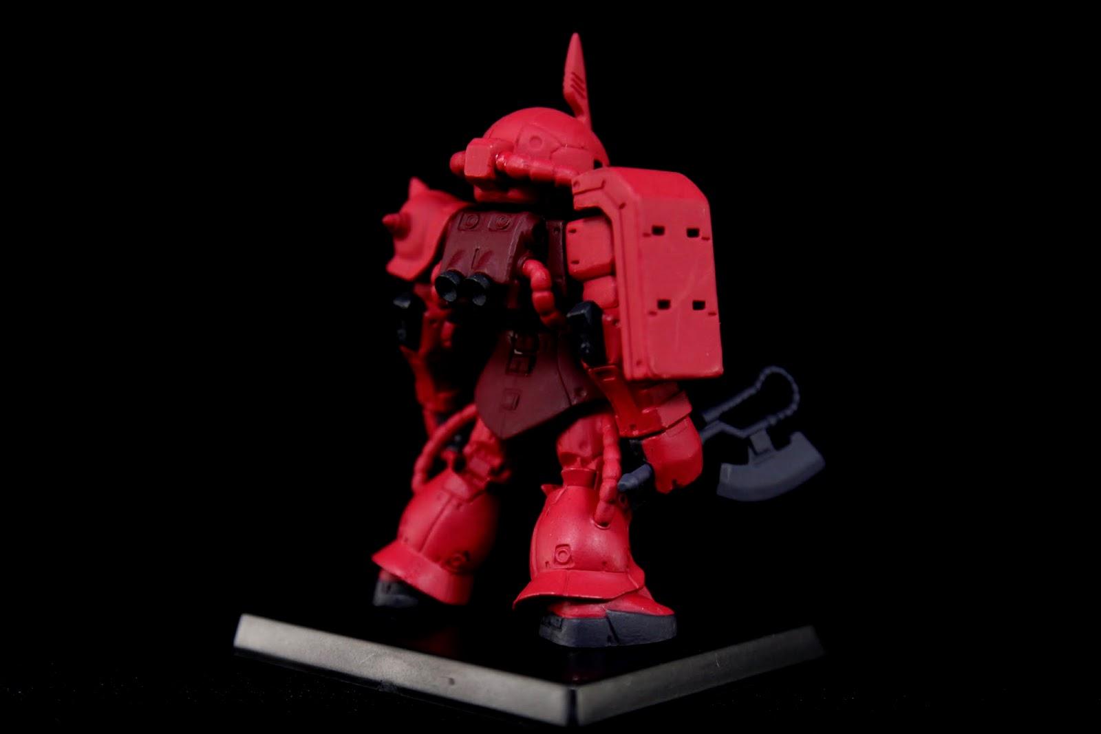 夏亞用的紅色其實就像這樣比較偏向粉色