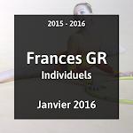 2016 - GR - Championnat de France Individuels