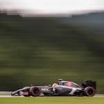 Adrian Sutil going fast in his Sauber C33