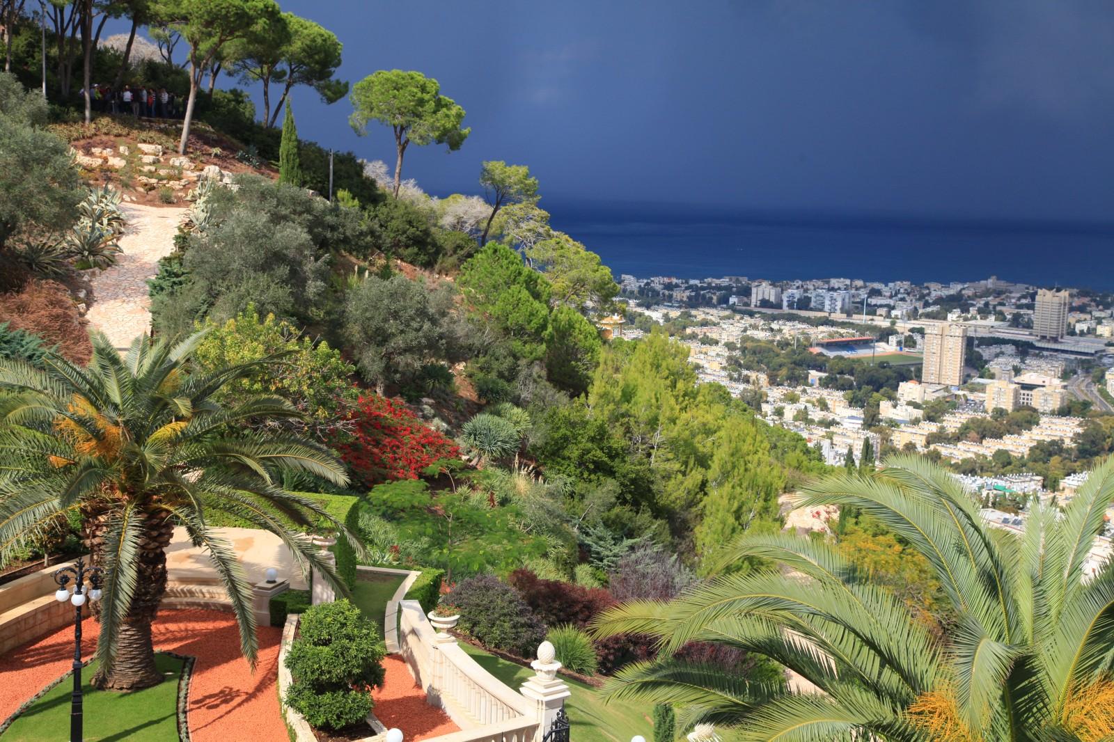 Storm is coming to (still) sunny Haifa