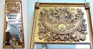 Антикварное зеркало в стиле АМПИР. 19-й век. 68/175 см. 3500 евро.
