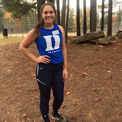 Jenna Holdaway Attended first ever Duke University Softball Camp Oct. 24 - 25, 2015