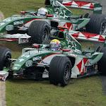 Crashed Mark Webber, Jaguar R4