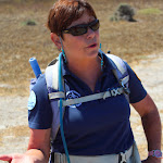 Catherine - our volunteer hike guide