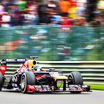 Sebastian Vettel, Red Bull RB9, Kemmel straight