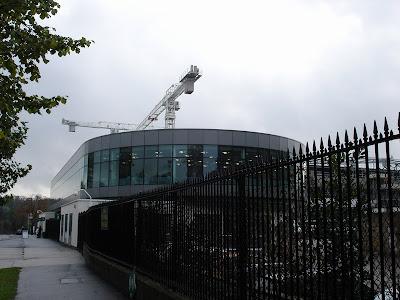 Wimbledon Tennis Centre under reconstruction