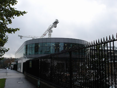 Wimbledon Tennis Centre under reconstruction