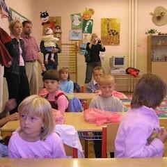 Prvňáčci poprvé ve školní lavici