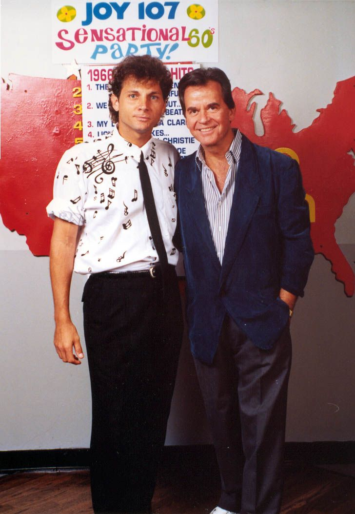 Jimmy with Dick Clark. What key is that shirt in?