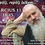 Repülj, repülj lelkem ~ Nada yoga koncert és Satsang Sirio mesterrel