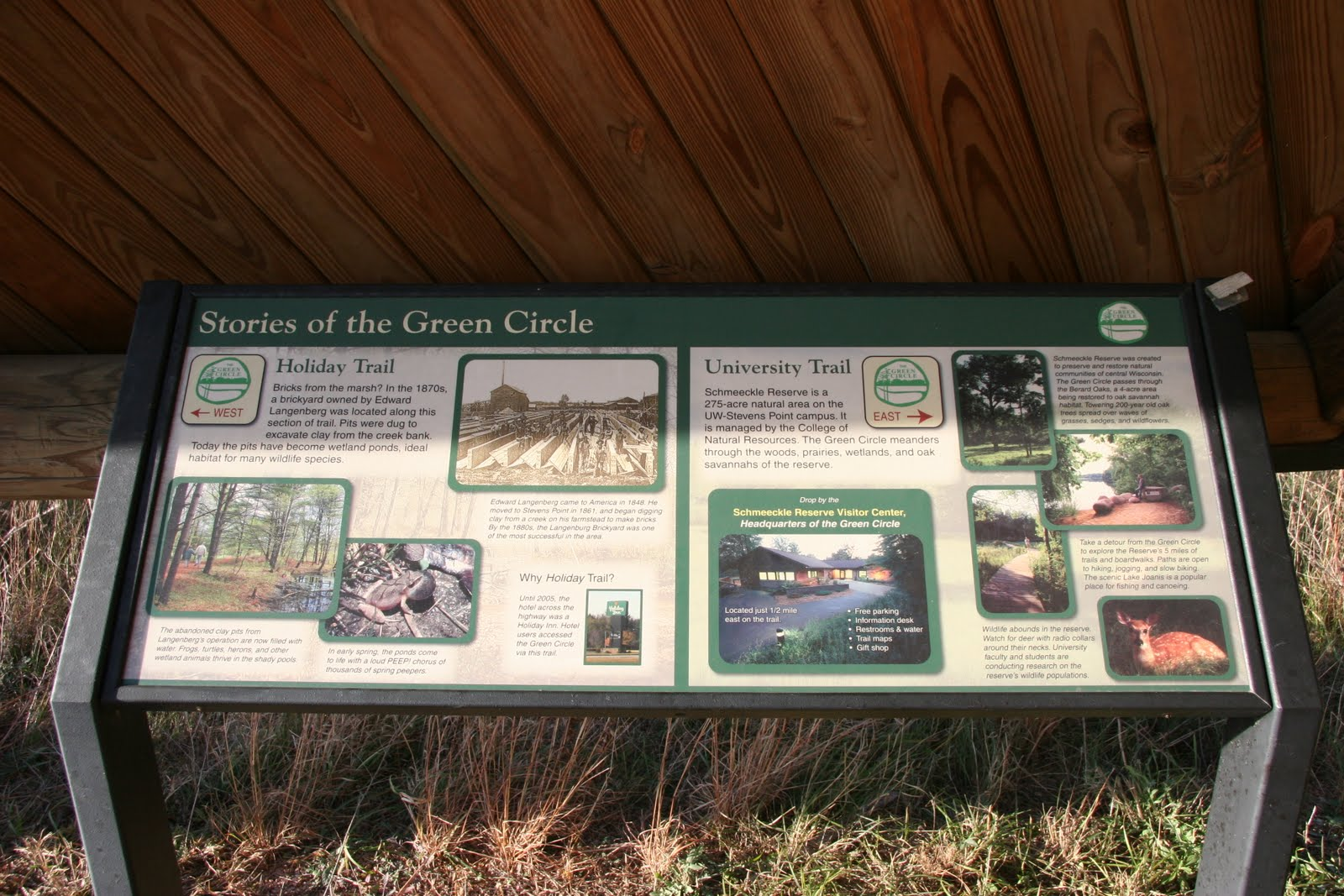 Green Circle Trailhead, University Trail