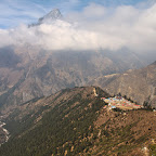 Tengboche down below